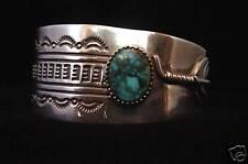 Gilbert Nelson Turquoise Bracelet - Navajo Handmade
