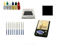 Gold testing Kit 10k 14k 18k 22k Silver Files Digital Scale Weigh Grams Carats