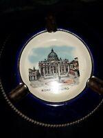 Vintage Souvenir Ashtray Roma -S.Pietro (Rome)  by Oto Roma