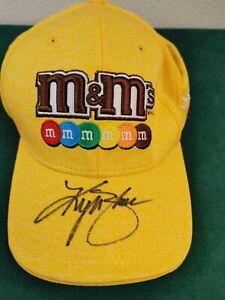 Kyle Busch #18 Autographed M&Ms Racing Hat Cap NWOT