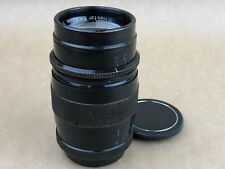 Leica 7.3cm f/1.9 Hektor 73mm Ultra Fast Lens L39 screw mount black paint -Rare