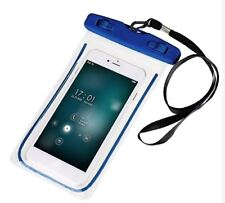 Waterproof Underwater Case Dry Pouch for Mobile Phone Glow - BLUE