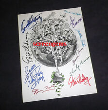 It's a Mad Mad World rare signed 10 cast art Stanley Kramer Fantastic! classic
