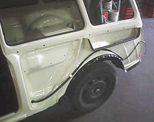 VW TYPE 3 1961-1973 REAR FENDER INNER BODY SEALS NOTCHBACK SQUAREBACK FASTBACK