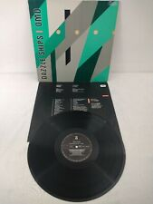 OMD dazzle ships 1983 vinyl album LP DIE-CUT sleeve record