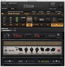 Avid Eleven MK II Guitar Amp & FX AAX Native & DSP Tier 3 Plug-in