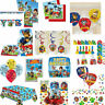 Paw Patrol Party Decorations, Favours Balloons Clearance Stock Boy Girl Party