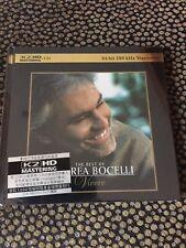 Andrea Bocelli – The Best Of / Vivere K2HD CD  New / Sealed ( not SACD ) japan