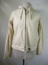 F3460 RG Women's Full Zip Up Hoodie Jacket Made in USA Size 38