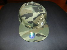 New York Camo all over fitted hat size Large TNT Authentic NEW with Tag