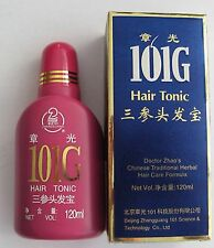 10 x 101G Hair Tonic for Stopping Hair Loss and Alopecia for Hair Re-growth