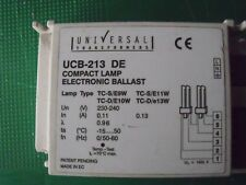 Universal Transformers UCB213/DE Compact Electronic Ballast 2 x 13w *NEW*