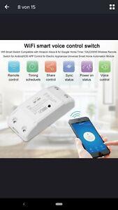 Smart Home, Wireless Steuereinheit für E-Geräte (Lampen, Steckdosen etc)