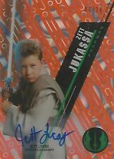 """Star Wars High Tek: Orange SW-29 Jett Lucas """"Zett Jukassa"""" Autograph Card #07/25"""