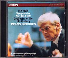 Frans BRÜGGEN: HAYDN Symphony No.99 & 102 BRUGGEN Philips CD Suprise Sinfonien