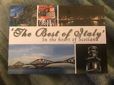 Italy In Scotland Poatcard