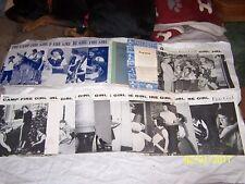 18 Camp Fire Girls, 1 Jr Program Guide, 1 Certificate, all Campfire 1950s & 60s