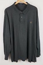 Polo Ralph Lauren Mens Sz 4XLT Gray Long Sleeve Shirt