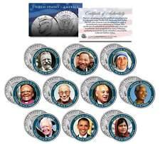 NOBEL PEACE PRIZE 10-Coin Complete Set JFK Half Dollars Mandela Tutu Obama MLK