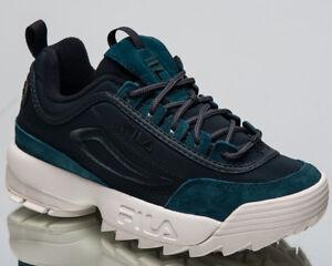 Fila Women's Disruptor Satin Low Lifestyle Shoes Atlantic Sneakers 1010437-50O