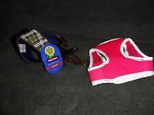 New Top Paw XS Mesh Harness and used pink harness