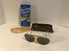 Olympic Shooting Glasses uv blocker Polycarbonate lenses Skeet Trap Gun