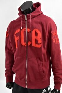 Nike FCB Barcelona Barca Football Training sweatshirt ZIP hoodie SIZE L (adults)