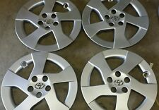 "Set of 4 61156 New 16"" Hubcaps Wheel Covers  2010 11 12 Toyota Prius Hub Caps"