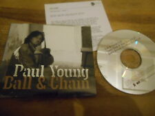 CD POP PAUL YOUNG-Ball & Chain (3) canzone CBL/EASTWEST SC + presskit