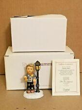 "Berta Hummel ""Holiday Bells"" Figurine Goebel 2001, Bh 106/P 3.75"" Tall Coa Box"