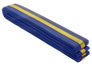 New, Karate Stripe Belts, Free Shipping.