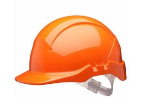 Centurion S09A Concept Vented Full Peak Safety Helmet - Orange