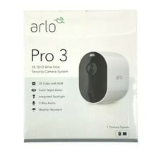 New Arlo Pro 3 2K Video 1 Camera Wire-Free Security Camera System