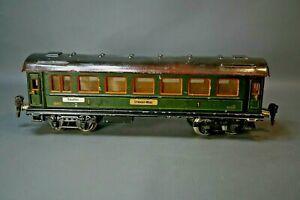 Prewar WW2 Marklin Train Tin Toy O Gauge 0 1841/0 Passenger Car 1-2 Wien-Dresden