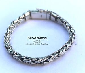 SilverNess Men's Jewellery Bracelet : 925 Sterling Silver