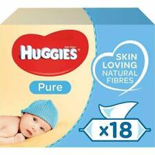 Huggies Pure Baby Wipes, 18 Packs, 1008 Wipes - (2434118)