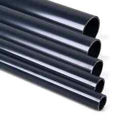 1 Meter PVC Rohr 25 32 40 50 63 110mm PVC-U Druckrohr PN10/16 ohne Muffe