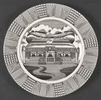Set of 2 -222 Fifth SLICE OF LIFE Doggie Diner Dinner Plates 2638875  BRAND NEW