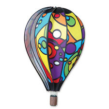 "Hot Air Balloon Style Hanging Wind Spinner 26"" Rainbow Orbit Pr 25759"