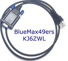 Serial Motorola Programming Cable CDM750 CDM1250 CDM1550 DB-9 MM + CPS +Support