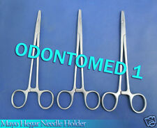 "3 Mayo Hegar Needle Holder 6"" Surgical Dental Instruments"
