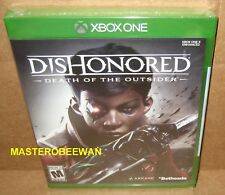Dishonored: Death of the Outsider New Sealed (Microsoft Xbox One, 2017)
