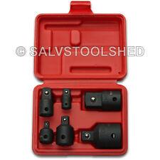 "6pc Impact Socket Adaptor Set Ratchet Drive Increaser Reducer Convertor 3/4-1/4"""