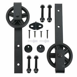 2pcs Sliding Barn Door Hardware Hangers, Big Industry Wheel Hangers