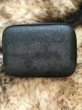 NEW Lancome Black CLUTCH Travel CaseCOSMETIC MAKE UP BAG