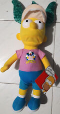 The Simpsons Bart Simpson with Krusty Clown Fan Hat Doll Plush