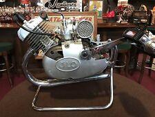 """1960's German JLO Motorcycle Engine Dealership Cutout Display  """"WATCH VIDEO"""""""