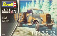 Revell Reve03250 HC - German Truck Type 2.5-32 1/35