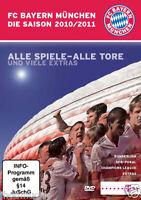 "DVD "" FC Bayern München Saison 2010 / 2011 "" NEU + OVP in Folie - 187 Minuten"