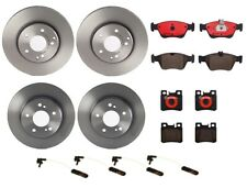 Front Rear Full Brembo Brake Kit Disc Rotors Ceramic Pads For MB R170 W202 W210